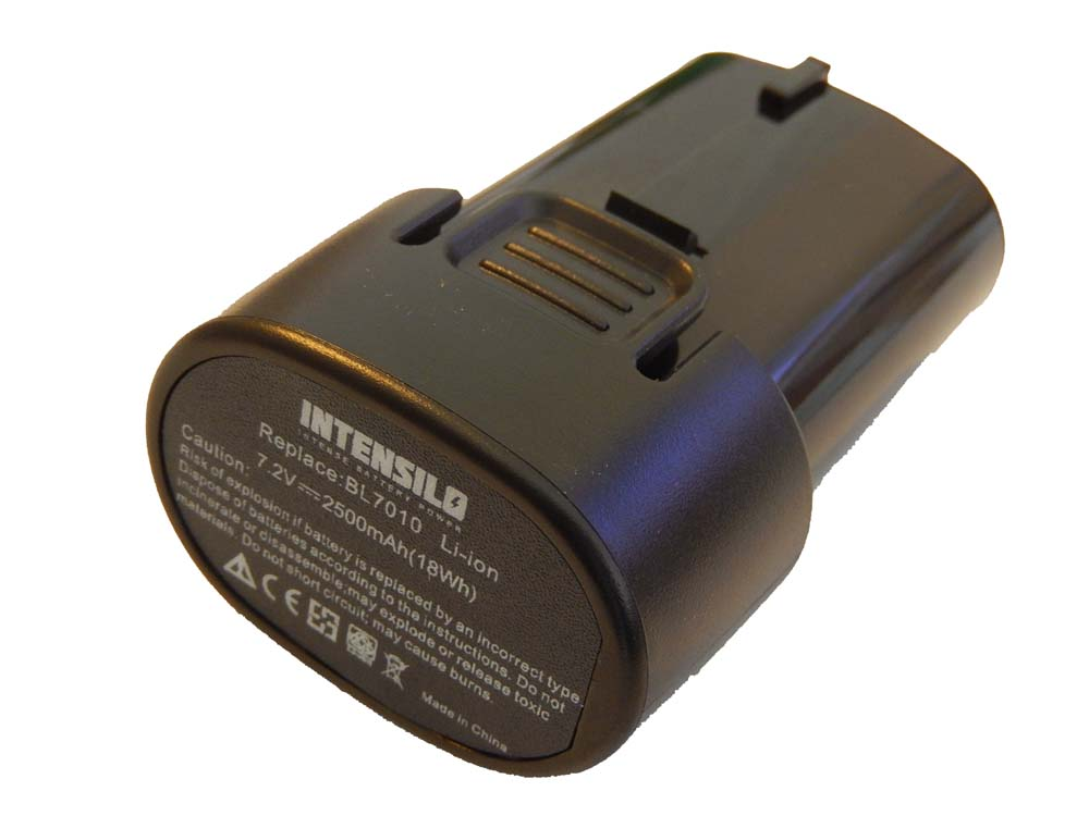 original intensilo akku 2500mah f r makita cl070 cl070d cl070ds cl070dz ebay. Black Bedroom Furniture Sets. Home Design Ideas