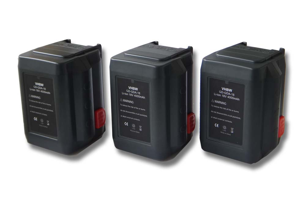 3x batteria 4000mah per gardena rasentrimmer accucut 400 li 8840 20 ebay. Black Bedroom Furniture Sets. Home Design Ideas
