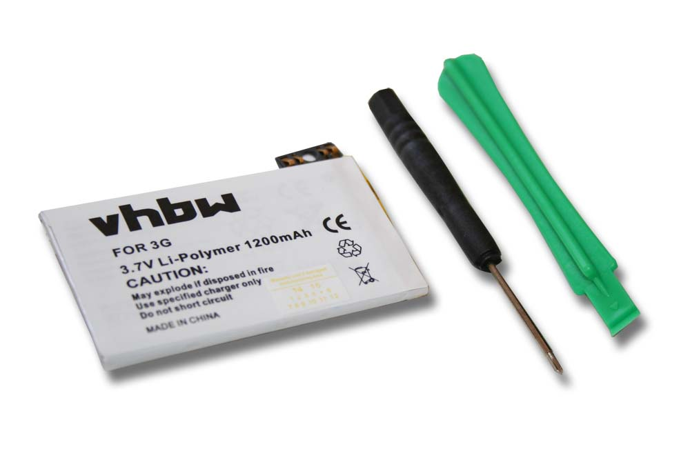 HANDY-AKKU-BATTERIE-ACCU-1200mAh-fuer-APPLE-Iphone-3G-8GB