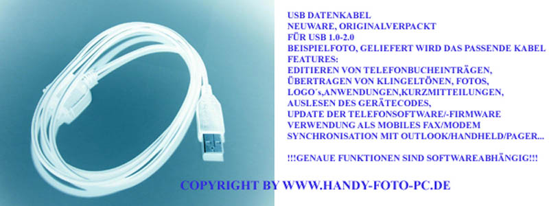 USB-DATENKABEL-FUR-SIEMENS-A65-CX65-C65-S65-SL65-M65