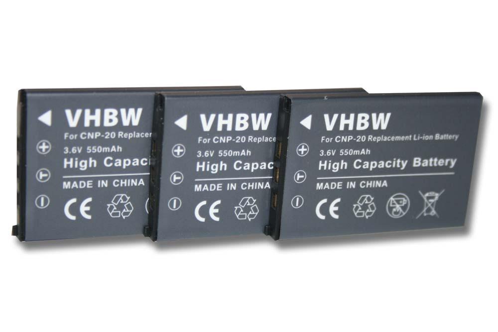 Cargador de batería de VHBW para Casio np-20dba np20 DBA
