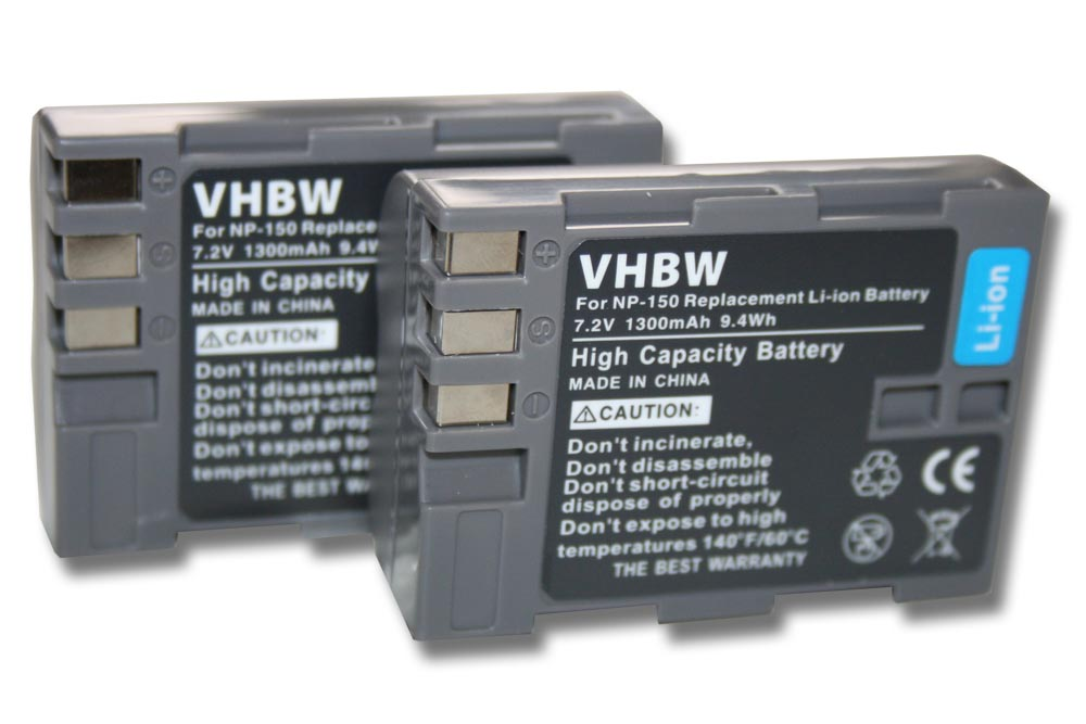 Top batería para Fuji np-150 Fujifilm finepix s5 pro np150 batería
