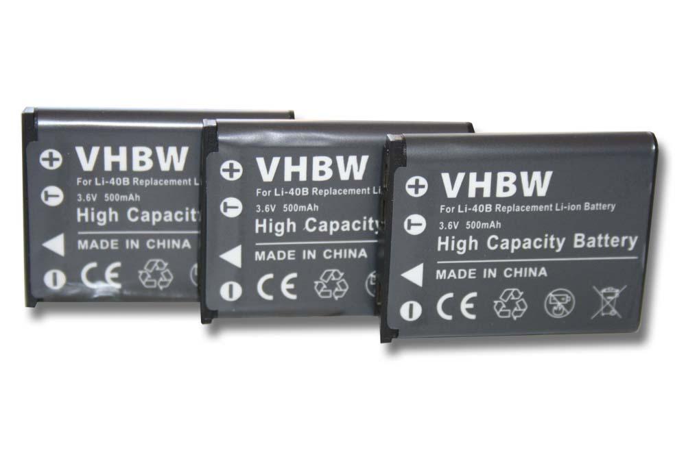 Original VHBW ® batería para li-40b li-42b Traveler xs4 xs-4