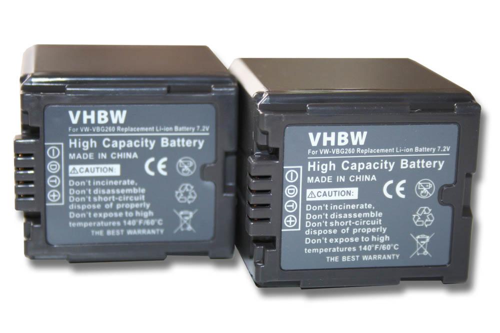 Original VHBW ® cargador para Panasonic Lumix dmc-tz2 dmc-tz3 CE-S