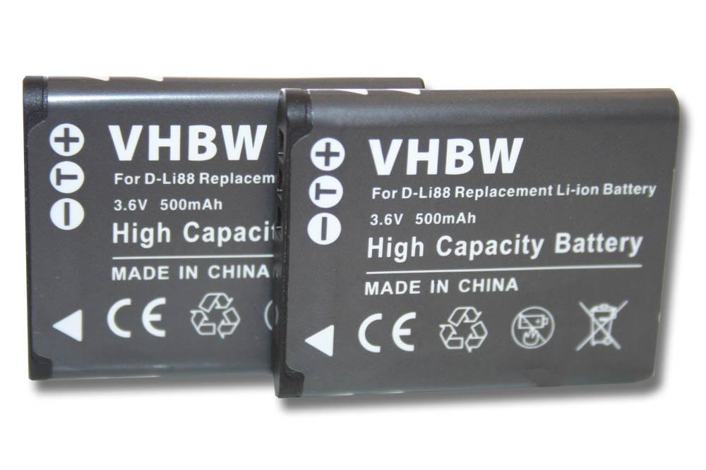 D-Li88 DLi88 Batería Cargador para Pentax Optio H90 L70 P70 P80 W90 WS80
