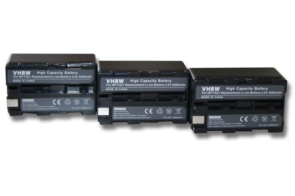 Akku Ladegerät von vhbw für SONY NP-F10 FS10 FM10 F11 FS11