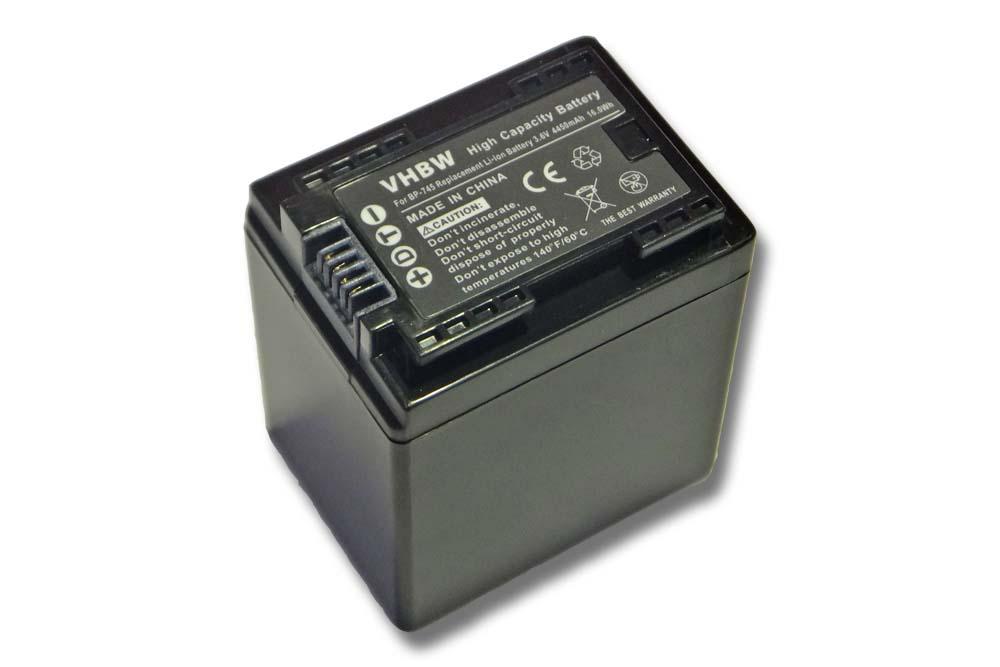 Bateria 4450mAh infochip para Canon Legria HF R38 HF R606
