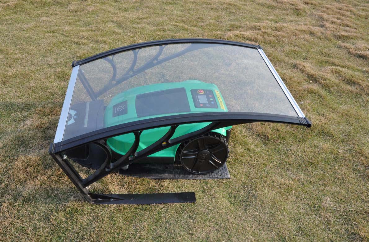 regenschutz verdeck garage f r husqvarna automower 305. Black Bedroom Furniture Sets. Home Design Ideas