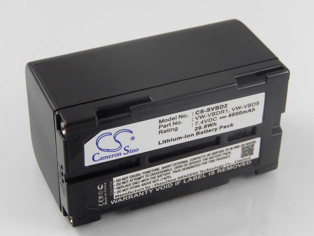 BATERIA para Panasonic nv-gs60 gs60eg-s