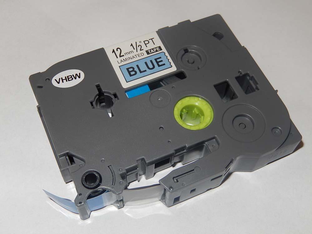 original vhbw® Schriftband Tape 12mm S-B für BROTHER P-Touch D600,D600VP