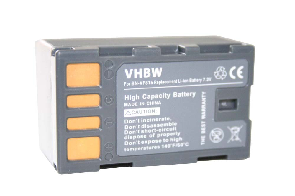 Bateria para JVC bn-vf808 con data-chip gz-mg330 gz-mg331