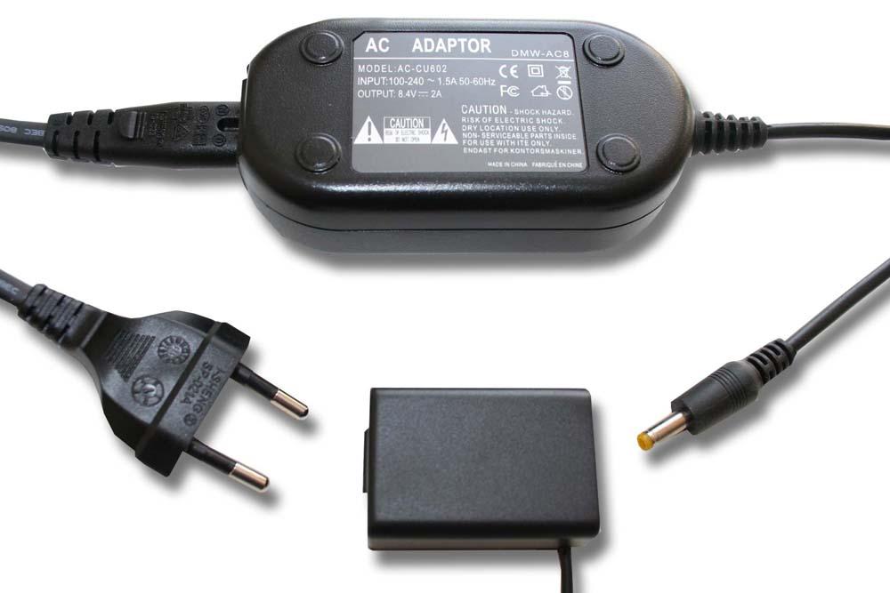 KUPPLER für Panasonic DMW-DCC6 DMW-DCC6E AKKU-ERSATZ