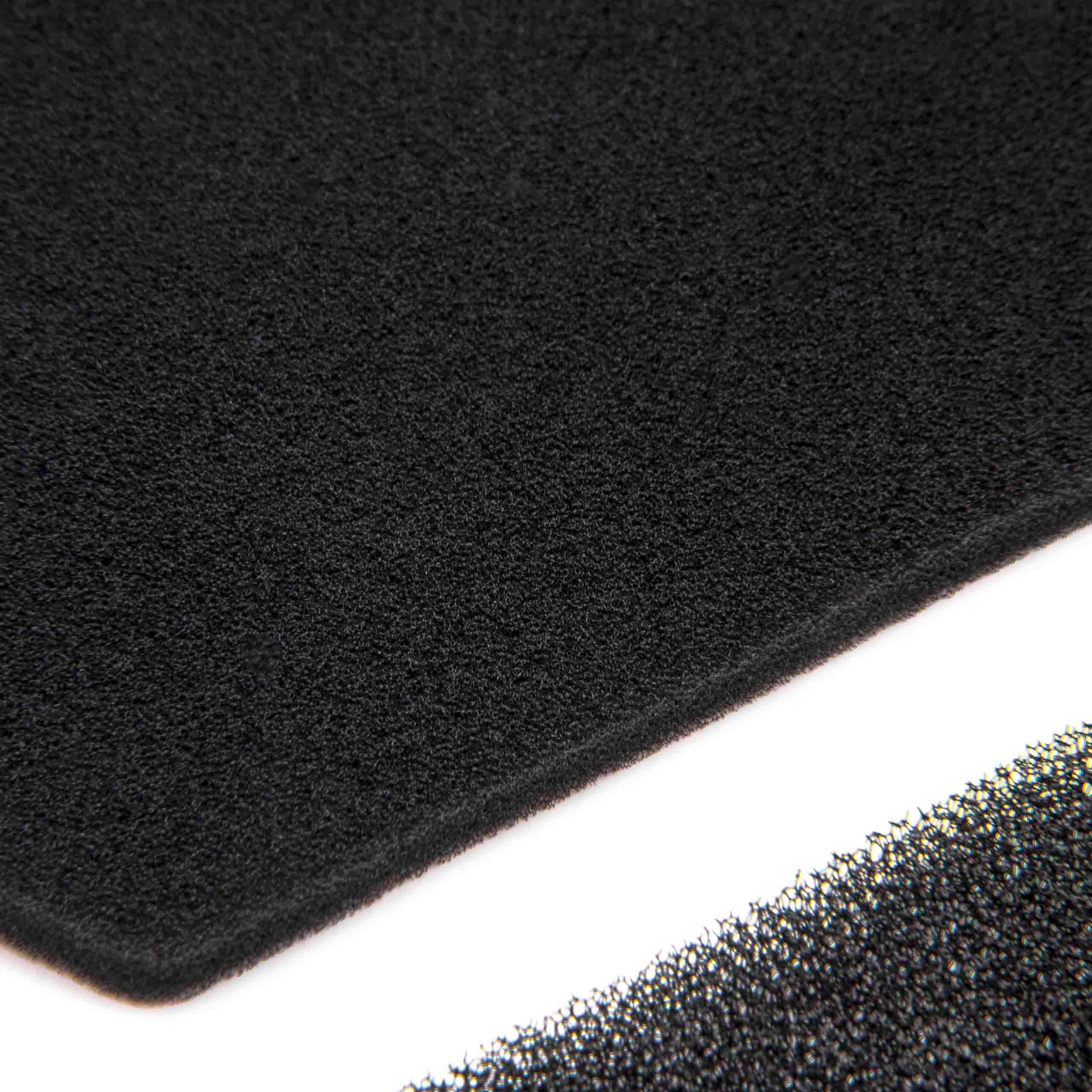 schaumfilter schwammfilter 2 1 f r miele set teilenummer. Black Bedroom Furniture Sets. Home Design Ideas