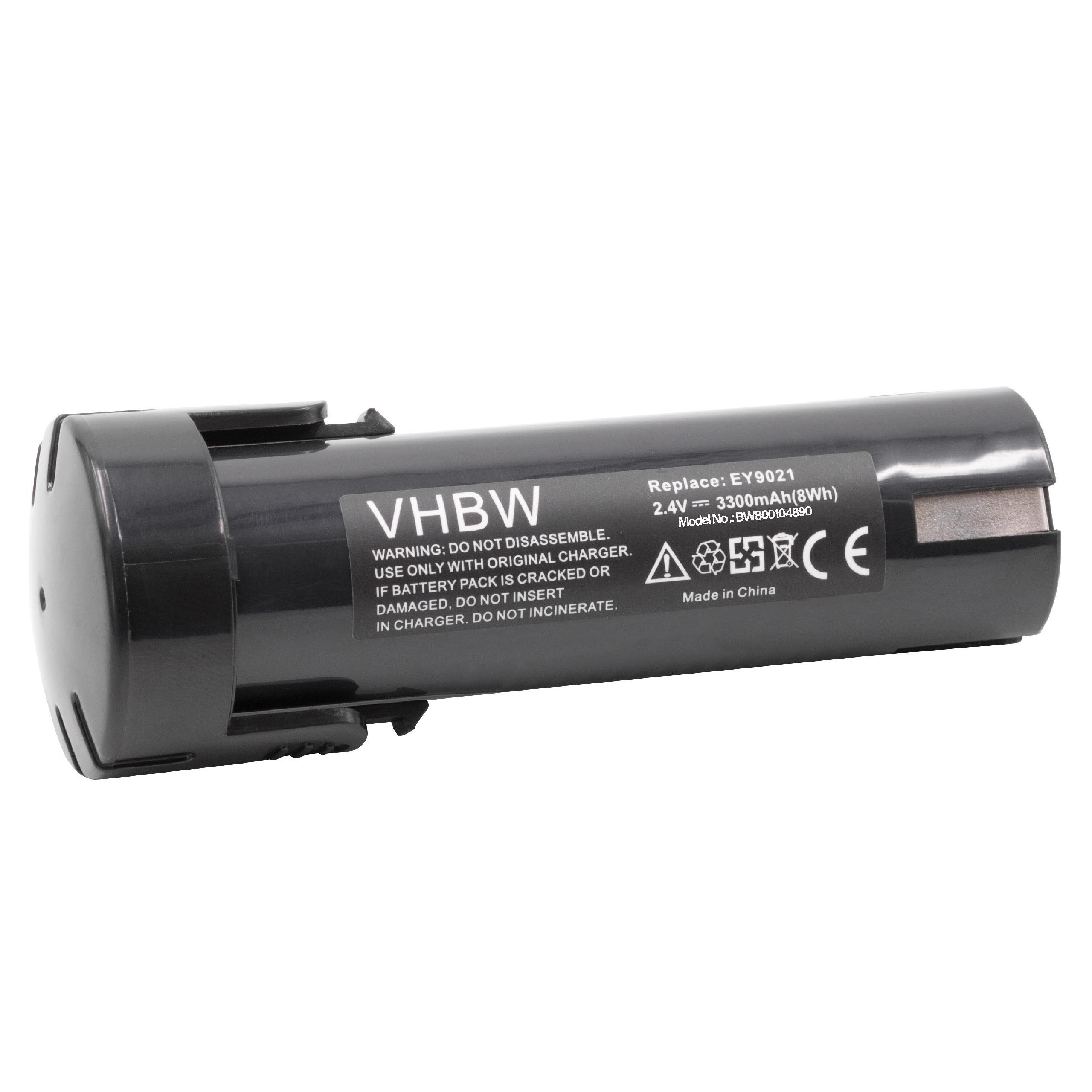 Premium Batterie 2.4 V 3300 mAh pour Panasonic Minifix 100 210 Pressofix 208