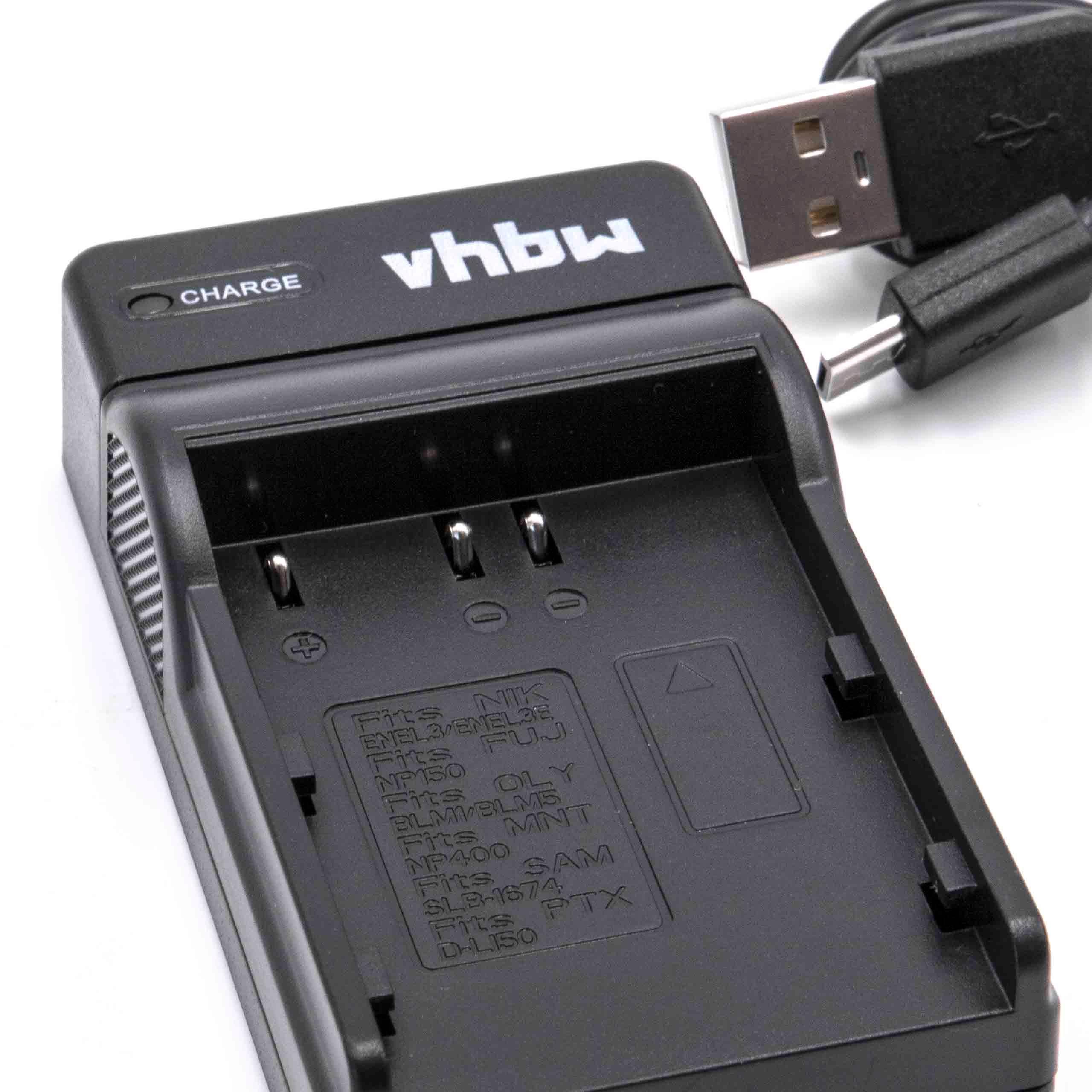 Original VHBW ® cable de datos USB para Fuji Fujifilm finepix s2750hd//s3200hd