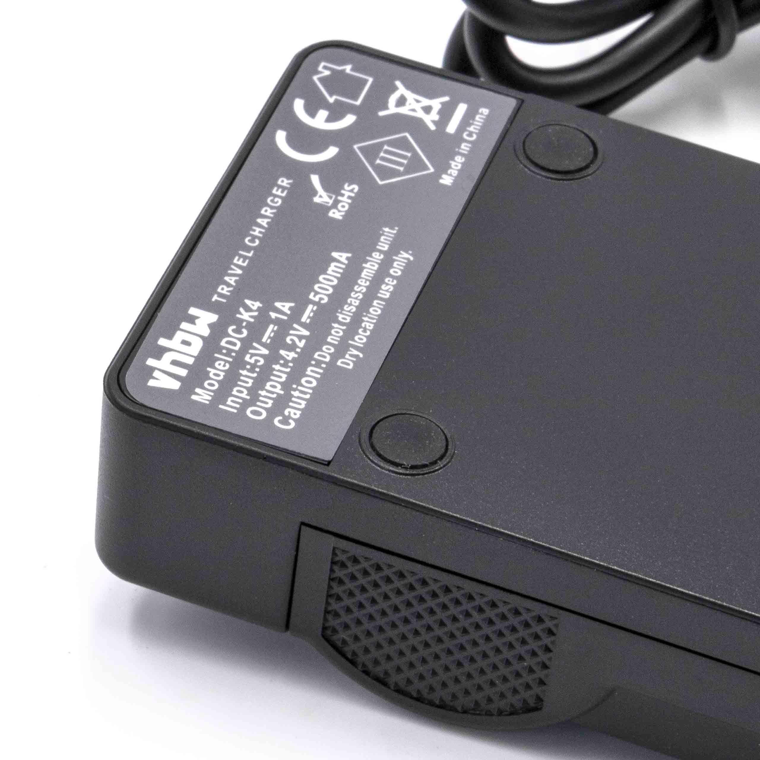 Micro USB Ladegerät Ladeschale für Panasonic Lumix DMC LX5