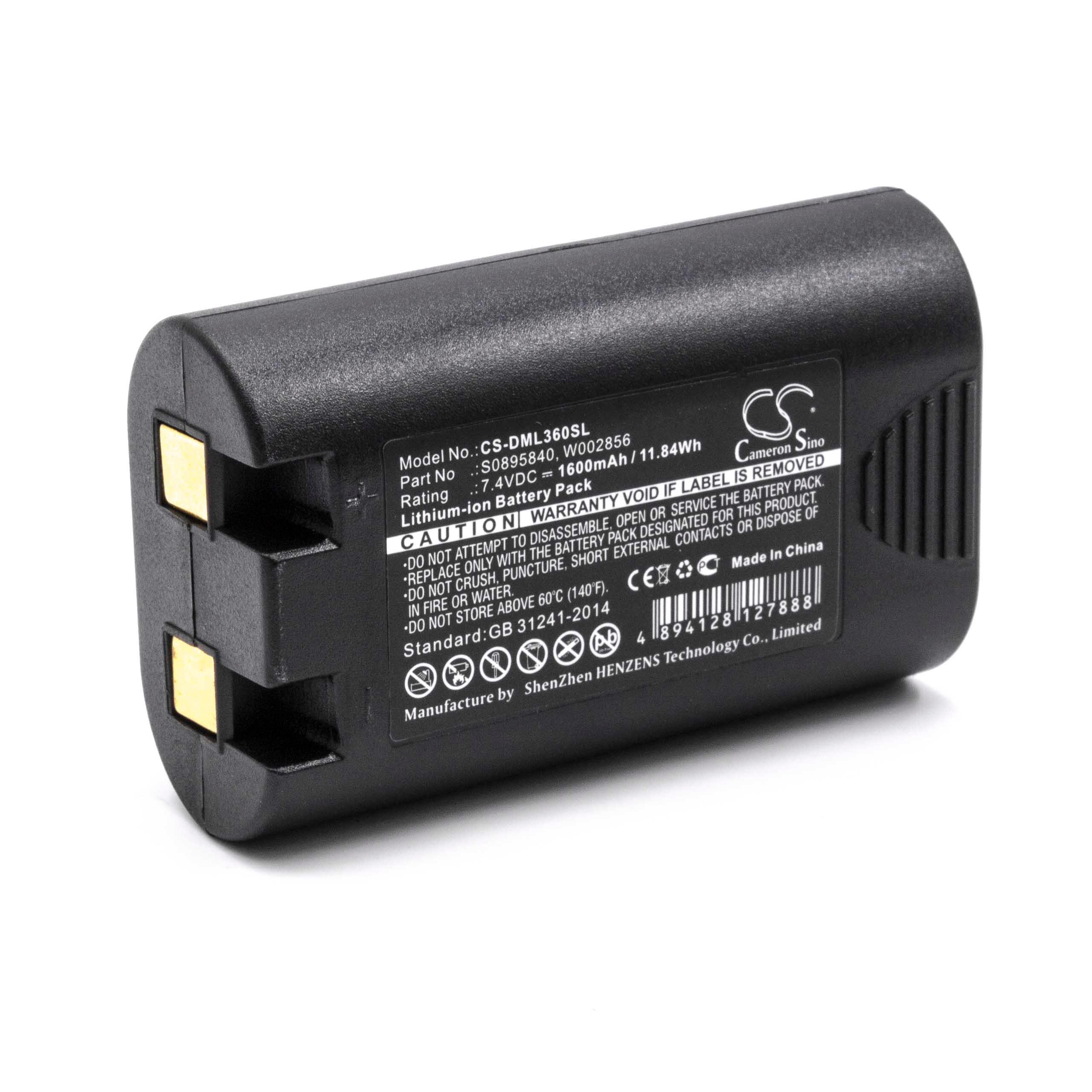 Akku Batterie 1600mAh Für DYMO LabelManager 360D