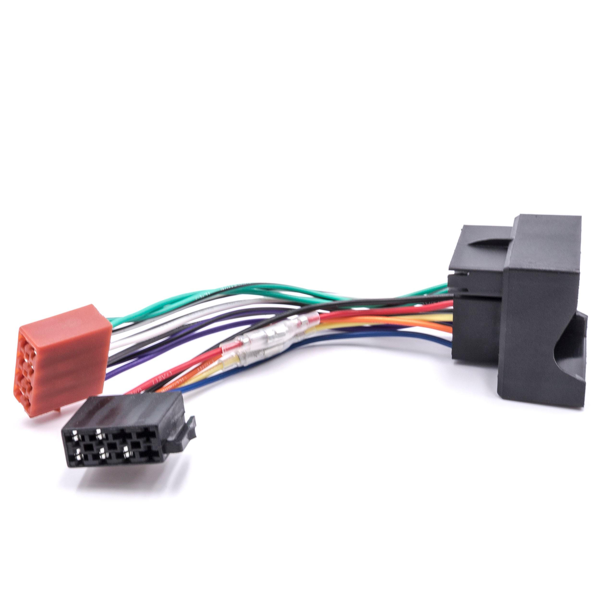 autoradio iso adapter f r ford focus c max ab 2003 ford. Black Bedroom Furniture Sets. Home Design Ideas