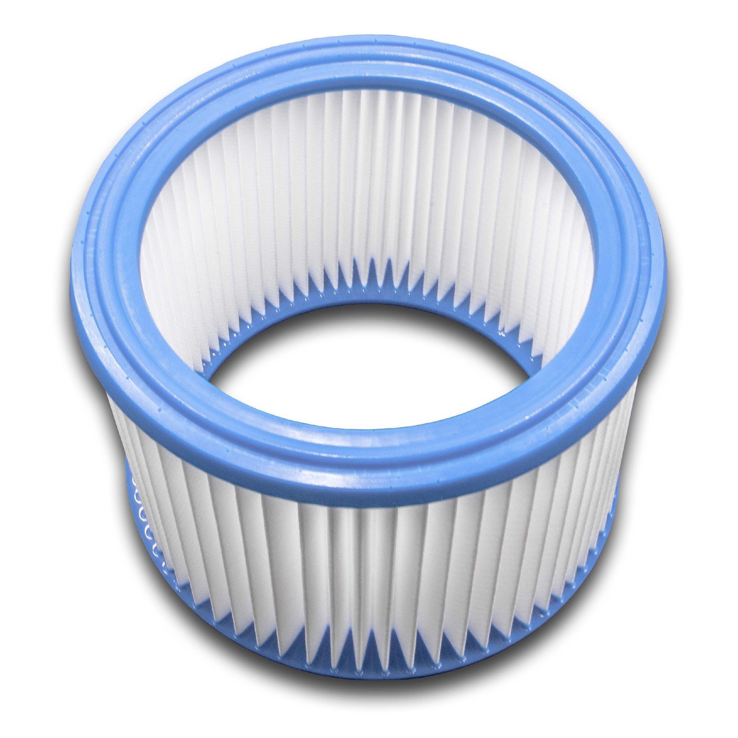 Circa-filtro filtro a pieghe per Nilfisk AERO 21-21 PC INOX