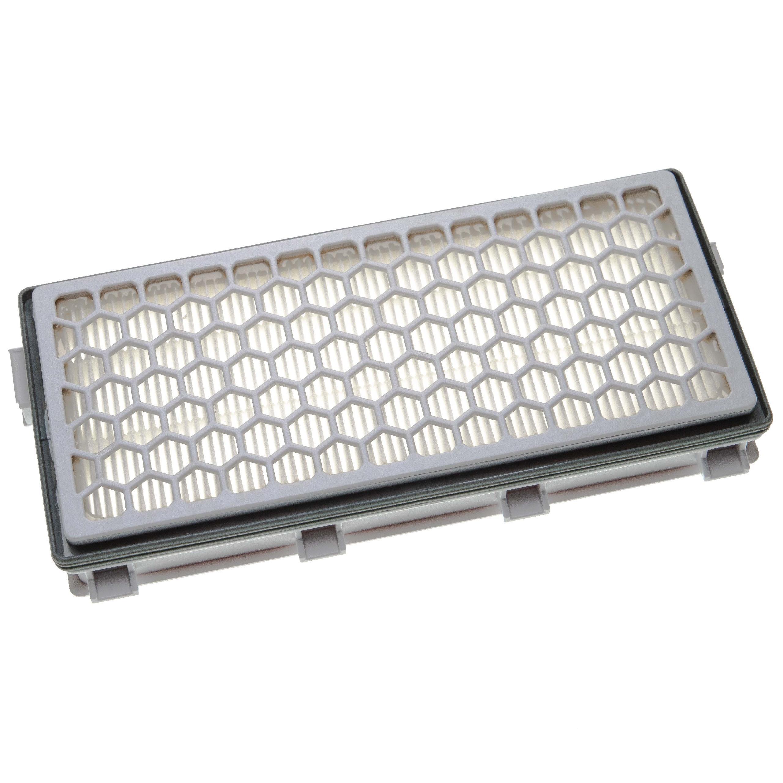 Abluftfilter HEPA Filter H13 für Miele Complete C2 Jubilee Powerline