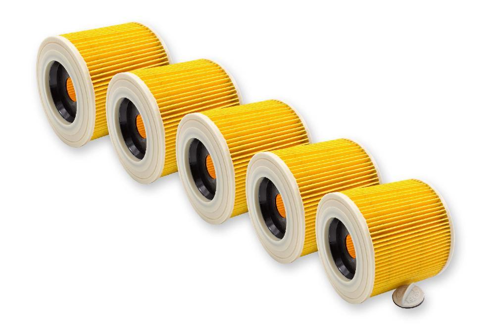 3x Patronen-Filter für Kärcher SE 4001 SE 4002 WD 2.200 WD 3.200 WD 3.300 M
