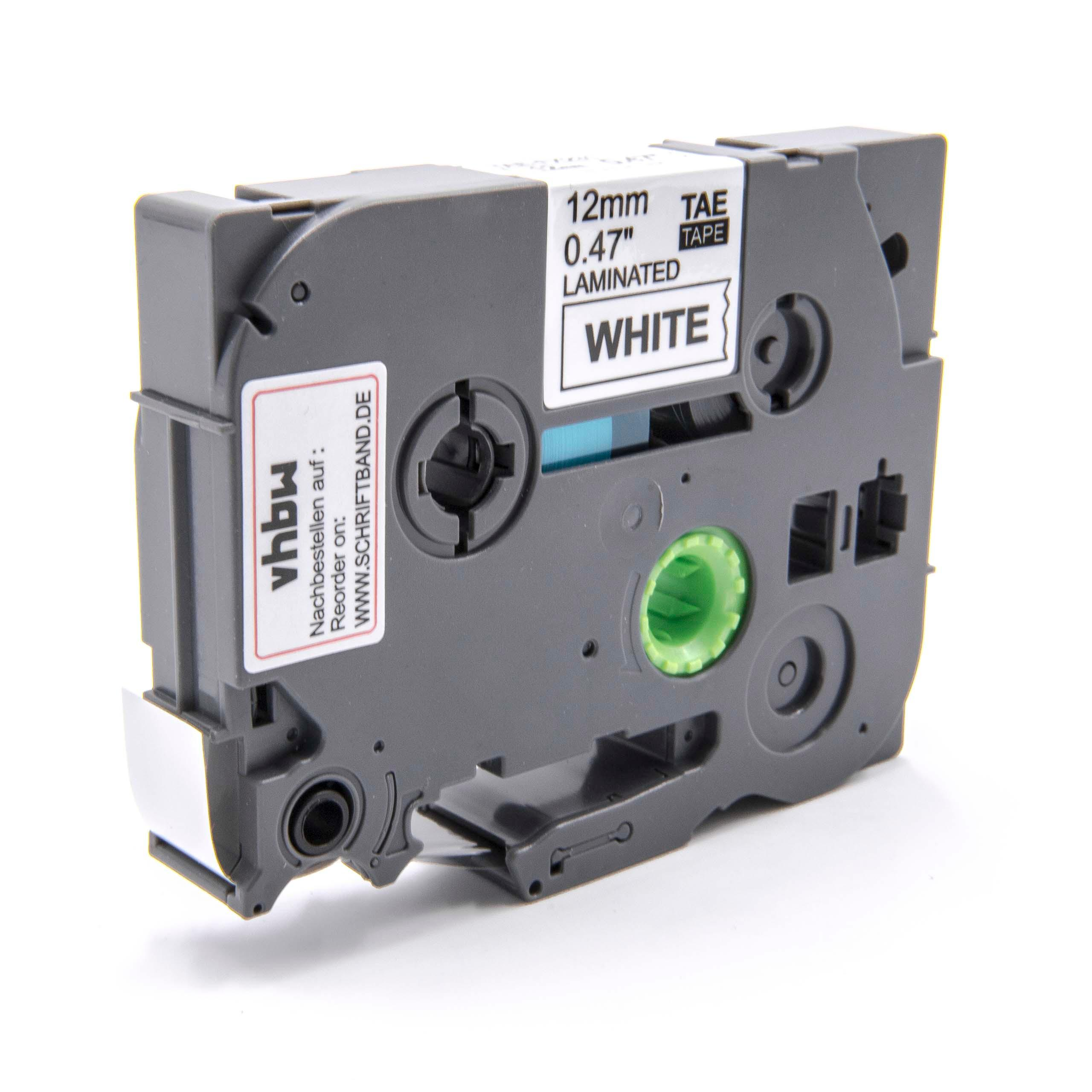 QL-500A 1200 Drucker Etiketten 12mm wasserfest für Brother P-touch QL-500