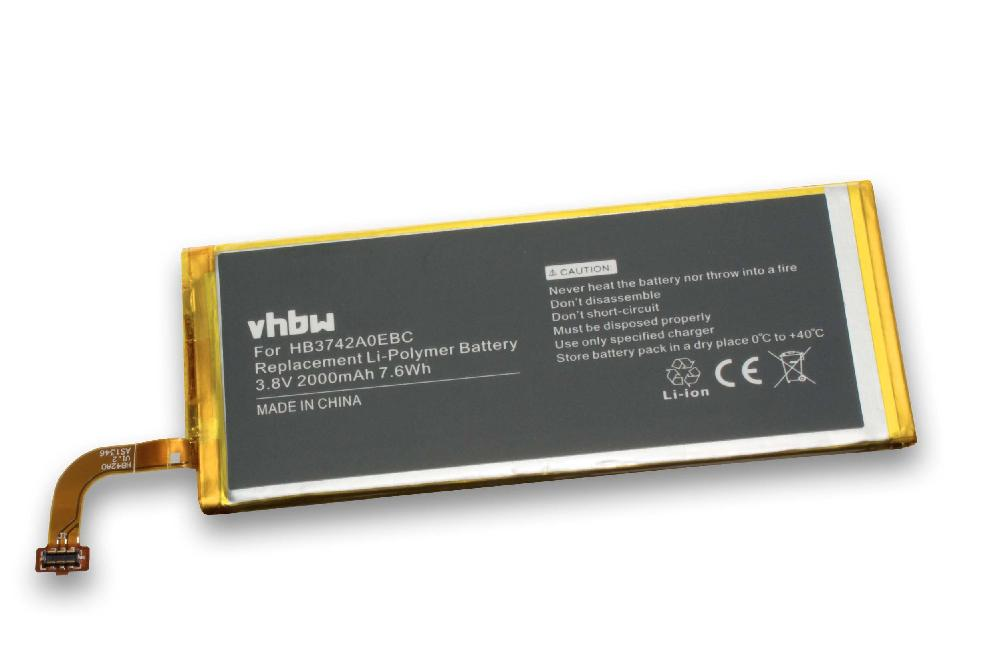 Battery 2000mah For Huawei Ascend G620