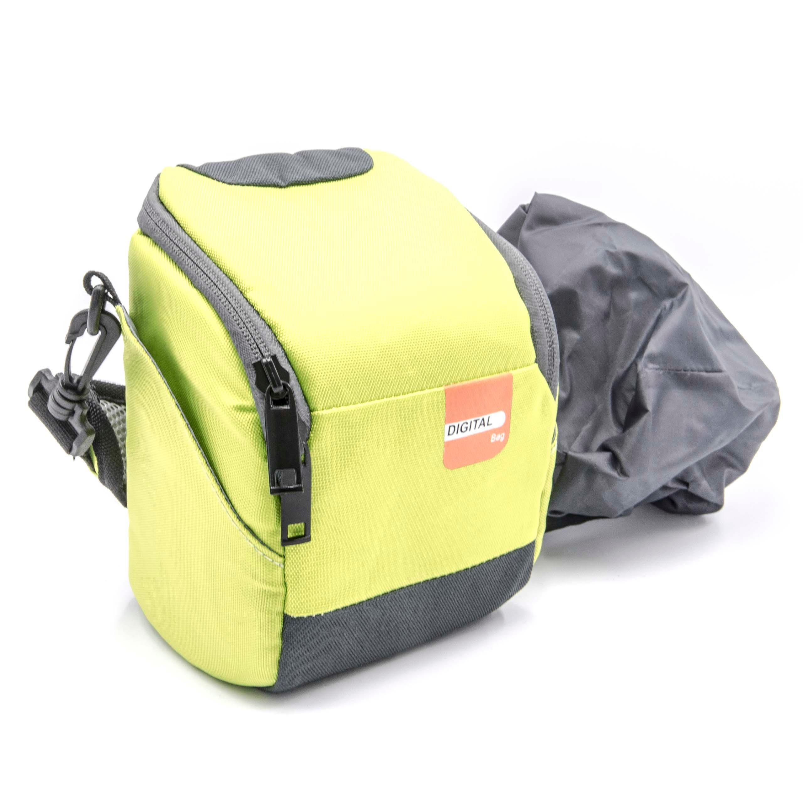 hdr-cx405 Estuche negro verde para Sony hdr-cx625 hdr-cx450
