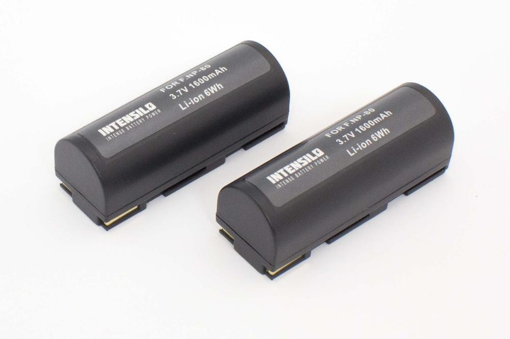Original VHBW ® cargador para Fuji Fujifilm finepix zoom 6800