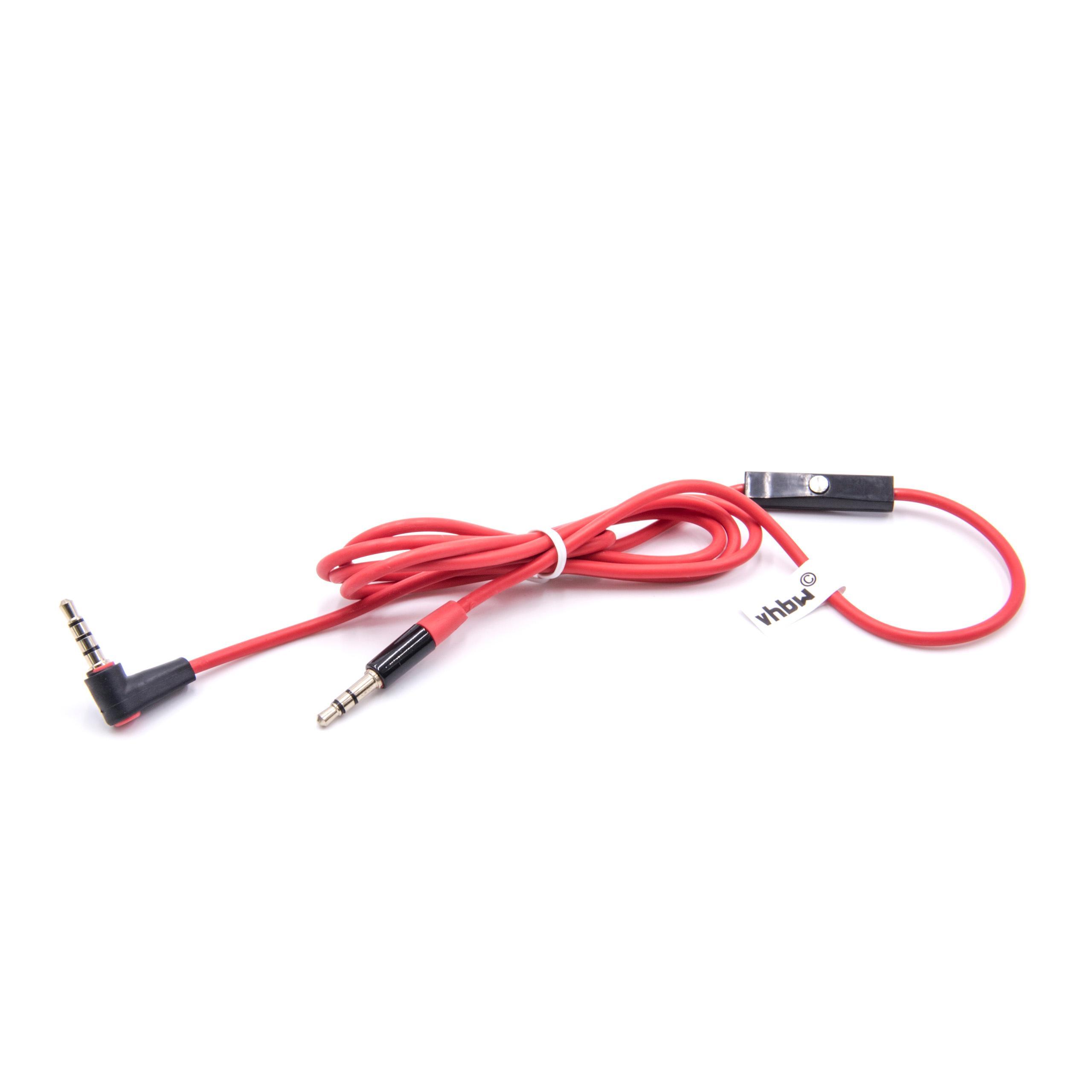 7even Aux 3,5mm Mini-Klinken und Kopfhörer Textil Kabel Grün